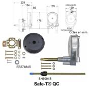 KIT BOITIER DIRECTION SAFE-T QUICK CONNECT SH5094S AVEC SUPPORT