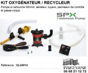 KIT OXYGENATION RECYCLAGE IN-WELL JOHNSON PUMP 32-24014